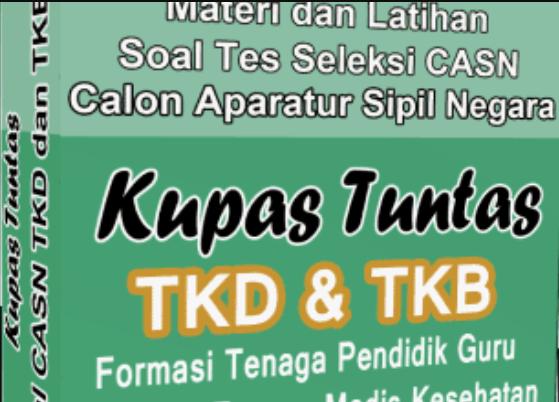 Contoh Soal TKB 2018