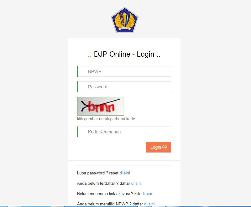 djp online