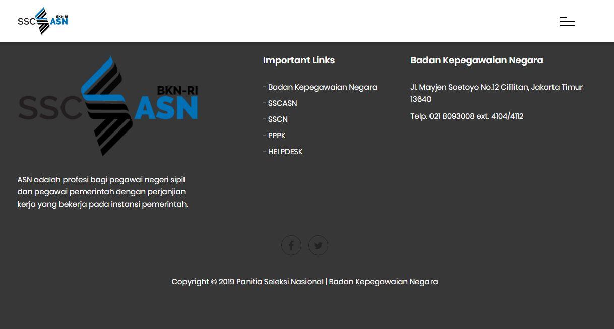 Update, Segera Login sscasn.bkn.go.id , Pendaftaran PPPK / P3K Tutup Hari Ini