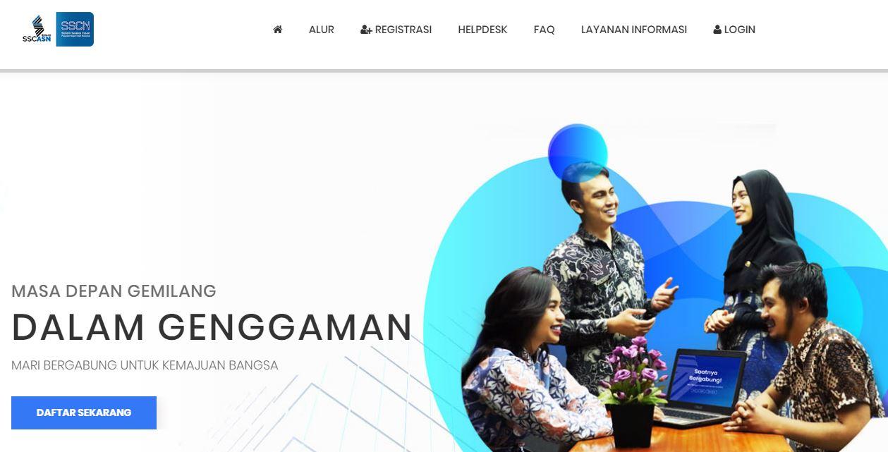 daftar sscasn.bkn.go.id cpns 2019